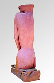 Sculptural Boundaries--Pink#5